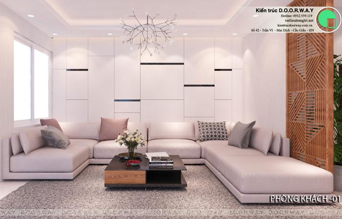 PK- [2019] Thiết kế nội thất căn 65m2 Hateco Apollo đẹp hiện đại