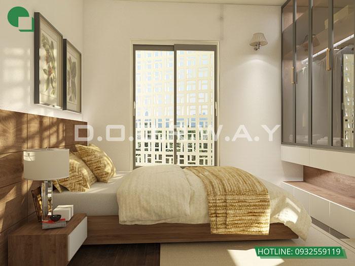 PN1- [2019] Thiết kế nội thất căn 65m2 Hateco Apollo đẹp hiện đại