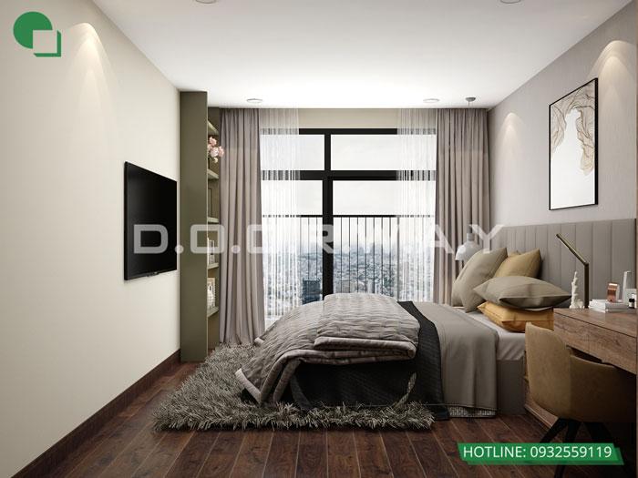 PN1- Xem mẫu thiết kế nội thất căn hộ 81m2 Cầu Giấy Center Point - 3PN