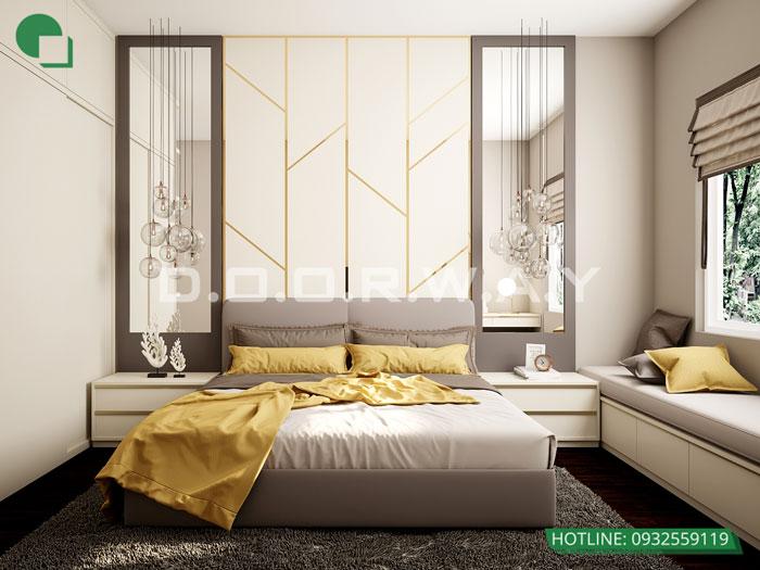 PN1- Mẫu thiết kế nội thất căn hộ Hateco Apollo - nhiều mẫu đẹp 2019