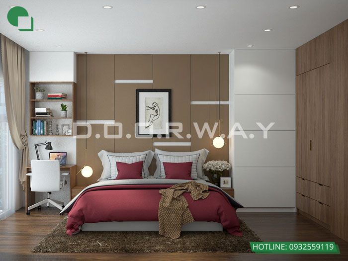 PN1(1)- Mẫu đẹp cho nội thất căn 2 phòng ngủ Sunshine Center - Update 2019
