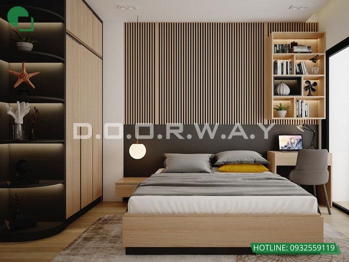 PN1(2)- Mẫu đẹp cho nội thất căn 2 phòng ngủ Sunshine Center - Update 2019