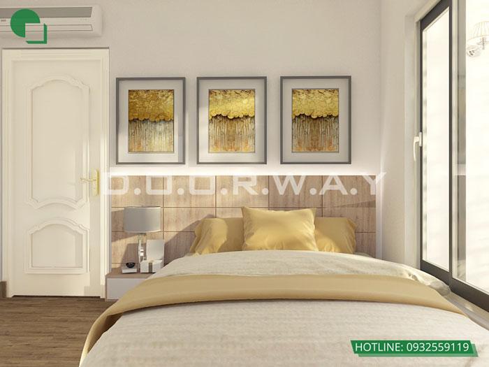 PN2- Mẫu thiết kế nội thất căn 60m2 A10 Nam Trung Yên - Căn hộ đẹp 2019
