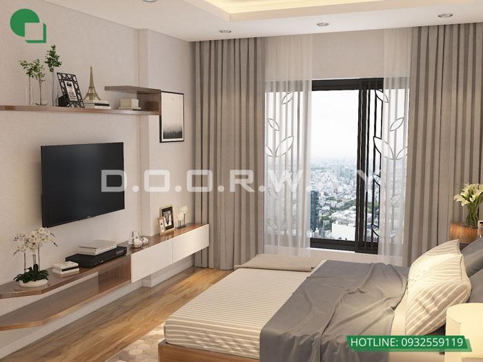 PN2- [2019] Thiết kế nội thất căn 65m2 Hateco Apollo đẹp hiện đại