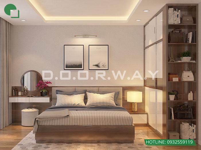 PN2(2)- Mẫu đẹp cho nội thất căn 2 phòng ngủ Sunshine Center - Update 2019