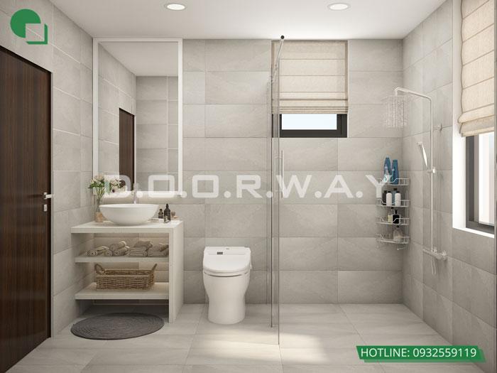 WC- Mẫu đẹp cho nội thất căn 2 phòng ngủ Sunshine Center - Update 2019
