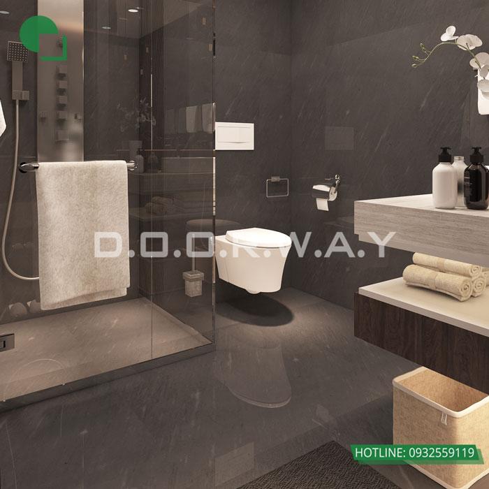 WC- [Doorway] Thiết kế nội thất căn 59m2 Hateco Apollo - Căn hộ 2PN