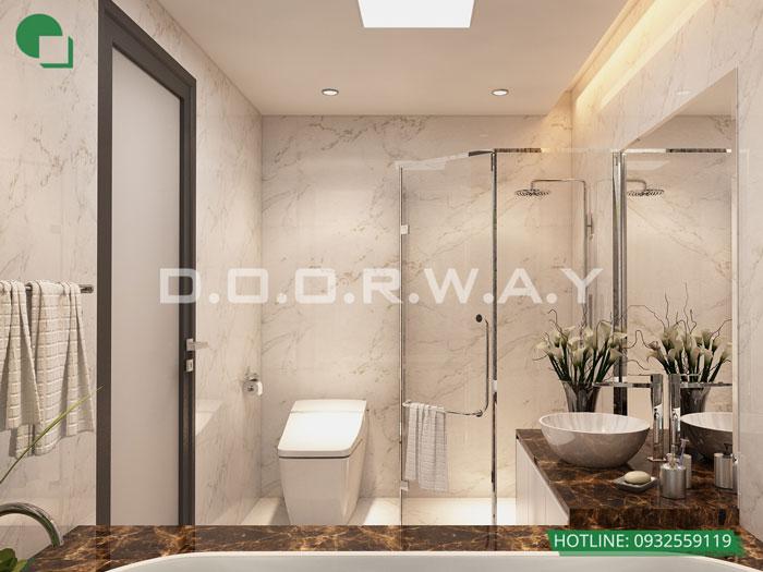 WC- [2019] Thiết kế nội thất căn 65m2 Hateco Apollo đẹp hiện đại