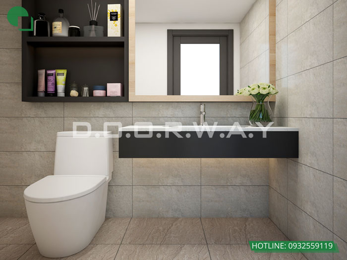 WC- Mẫu thiết kế nội thất căn hộ Hateco Apollo - nhiều mẫu đẹp 2019