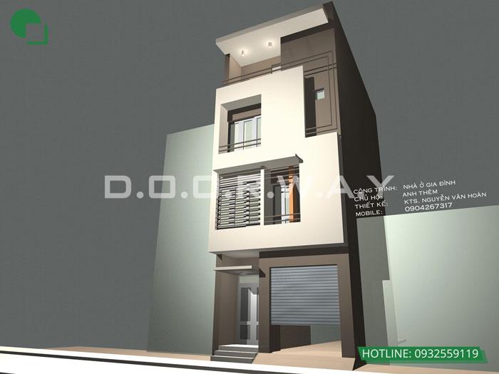 1- Tổng hợp 7 mẫu thiết kế nhà phố 4x11m đẹp năm 2019