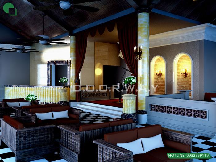2 - Mẫu thiết kế quán cafe đẹp