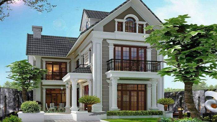 2- Bắt mắt với 5 mẫu thiết kế nhà chiều ngang 9m