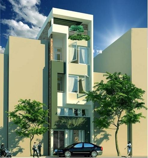 2- Tư vấn thiết kế nhà đẹp 8x20m và đơn vị thiết kế uy tín tại Hà Nội