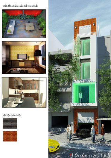 2- Tổng hợp 7 mẫu thiết kế nhà phố 4x11m đẹp năm 2019