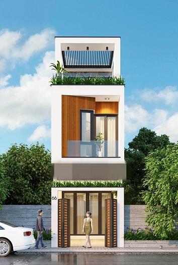 3- Tư vấn thiết kế nhà đẹp 8x20m và đơn vị thiết kế uy tín tại Hà Nội