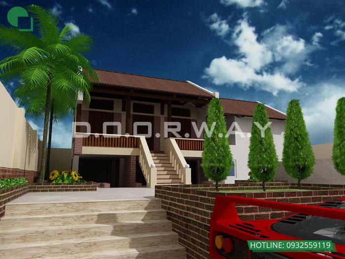 3- Ấn tượng với mẫu thiết kế nhà thờ họ đẹp hợp phong thủy