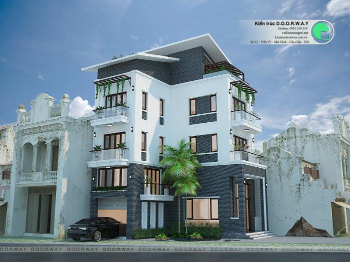 4- Ấn tượng khó phai với mẫu thiết kế biệt thự 3 tầng hiện đại