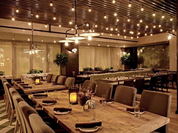 5- Top 5 các phong cách thiết kế nhà hàng được lòng thực khách