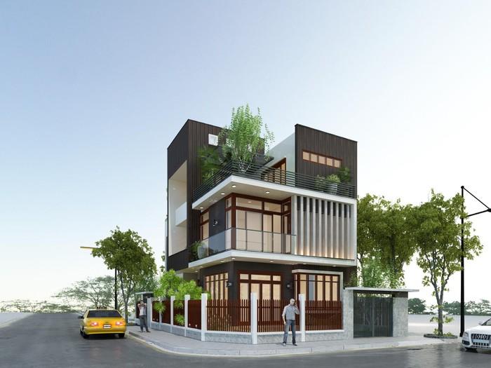 5- Tư vấn thiết kế nhà đẹp 8x20m và đơn vị thiết kế uy tín tại Hà Nội