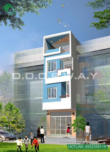 5- Tổng hợp 7 mẫu thiết kế nhà phố 4x11m đẹp năm 2019