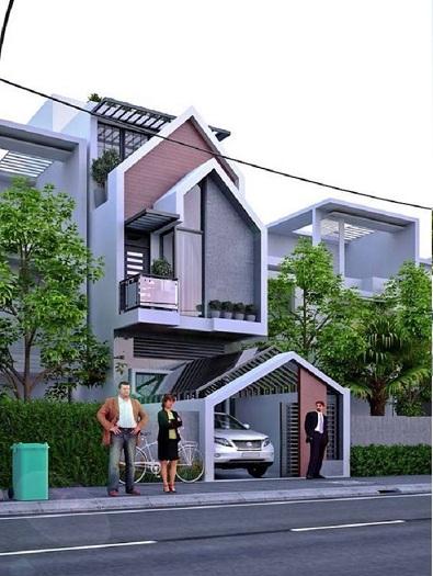 6- Tư vấn thiết kế nhà đẹp 8x20m và đơn vị thiết kế uy tín tại Hà Nội