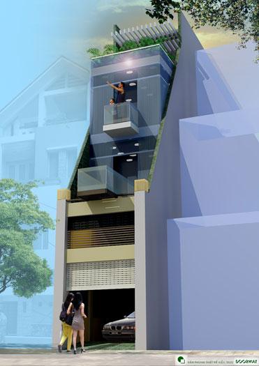 6- Tổng hợp 7 mẫu thiết kế nhà phố 4x11m đẹp năm 2019