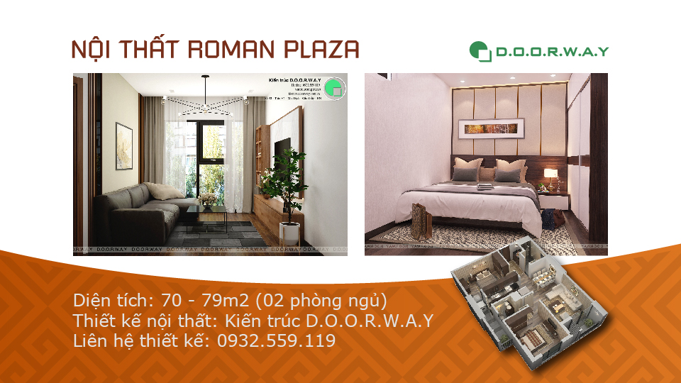 Ảnh tiêu biểu- Lựa chọn nội thất căn 2 phòng ngủ Roman Plaza đẹp hiện đại như thế nào ?