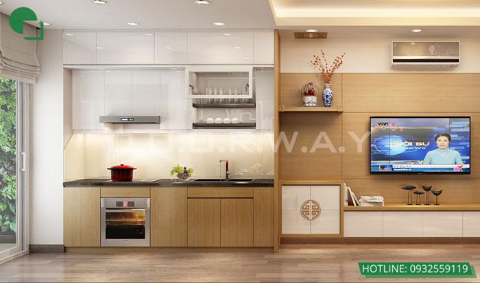PB- Gợi ý mẫu nội thất căn 69m2 Roman Plaza cho gia đình trẻ