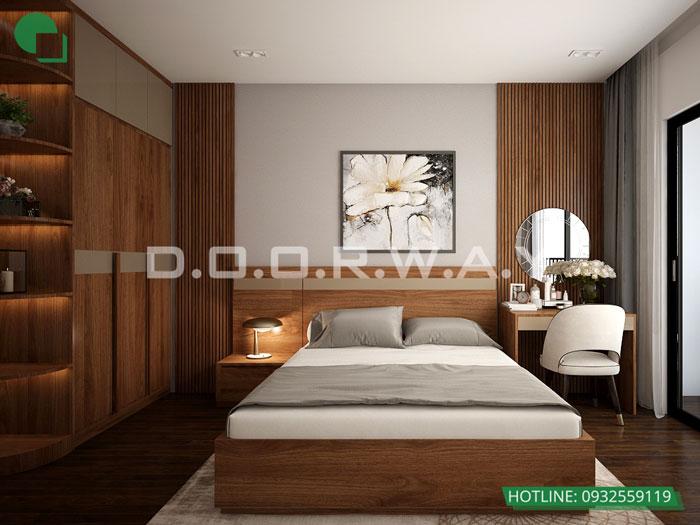 PN1- Thiết kế nội thất căn 129m2 Sunshine Center - 3PN hiện đại