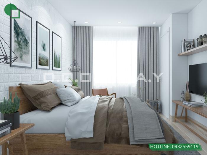 PN1- Gợi ý mẫu nội thất căn 69m2 Roman Plaza cho gia đình trẻ