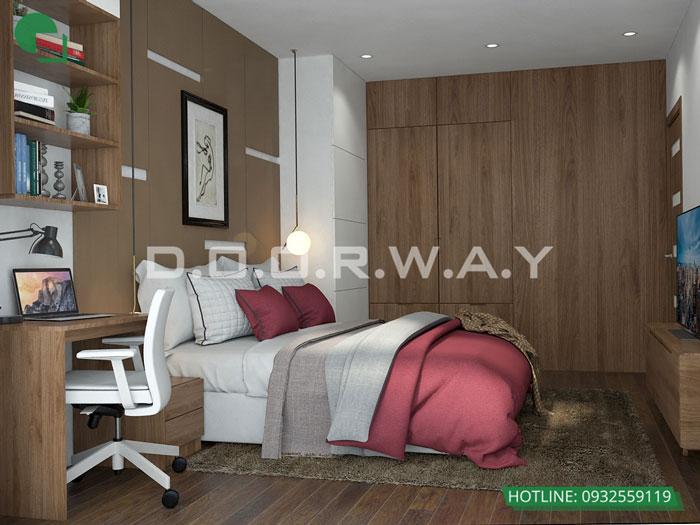 PN2- Gợi ý mẫu nội thất căn 69m2 Roman Plaza cho gia đình trẻ