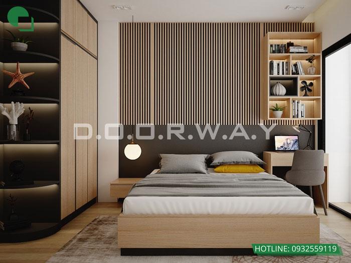 PN3- Thiết kế nội thất căn 129m2 Sunshine Center - 3PN hiện đại