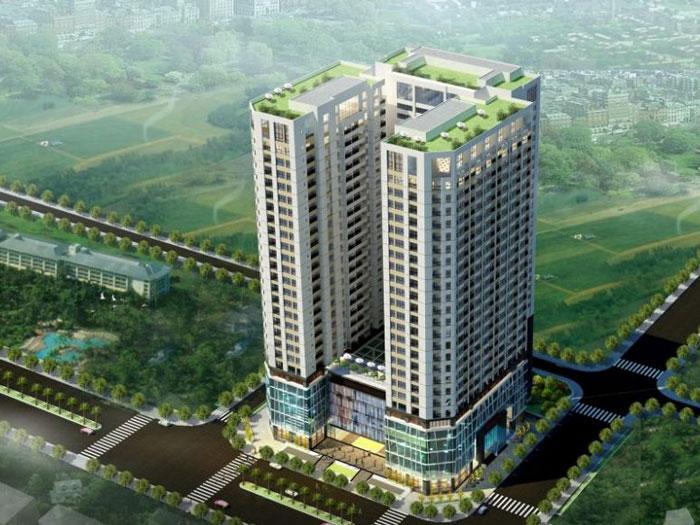 Toàn cảnh- Thiết kế nội thất căn 129m2 Sunshine Center - 3PN hiện đại
