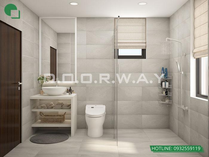 WC- Gợi ý mẫu nội thất căn 69m2 Roman Plaza cho gia đình trẻ