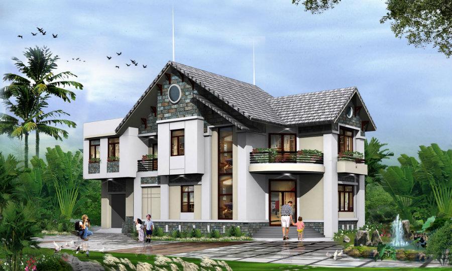 Ảnh tiêu biểu- Top 15 mẫu & các kiểu kiến trúc nhà ở hiện đại được yêu thích nhất