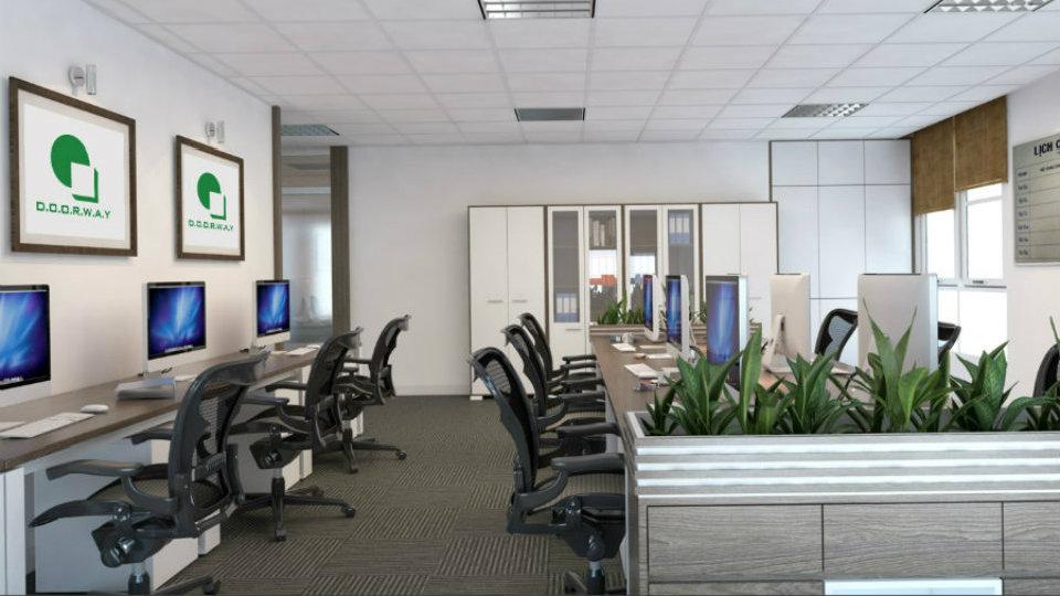 Ảnh tiêu biểu- Kinh nghiệm chọn đơn vị thiết kế nội thất văn phòng tại Hà Nội