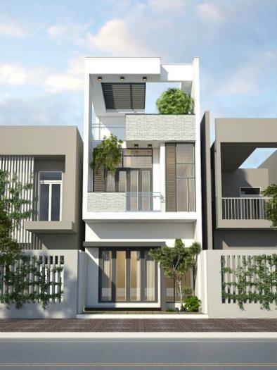 1- Sở hữu ngôi nhà đẹp mãi với thời gian cùng thiết kế nhà 6x20m