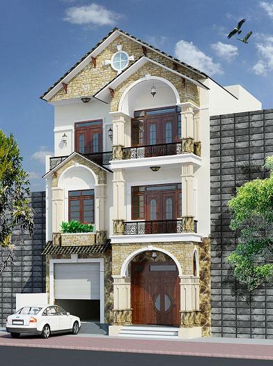 1- Gợi ý giải pháp thiết kế nhà mặt tiền 12m sâu 8m phù hợp