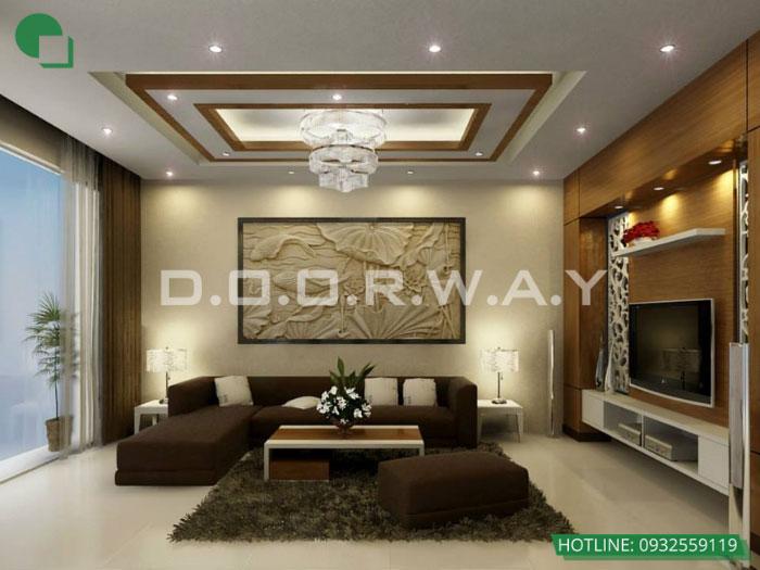 1- 6 mẹo thiết kế nội thất phòng khách biệt thự diện tích nhỏ