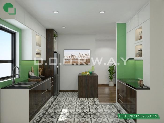 11- Mẫu thiết kế nhà gác lửng 5x20 full nội thất siêu đẹp