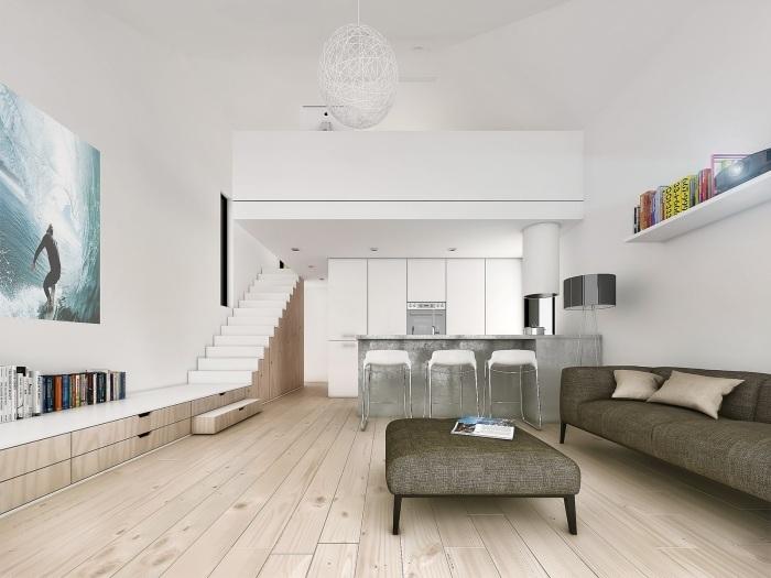 2- Cách thiết kế nội thất nhà cấp 4 đẹp hiện đại với chi phí hợp lý