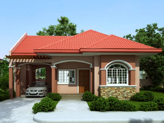 2- Những mẫu thiết kế biệt thự nhà vườn ở nông thôn đẹp