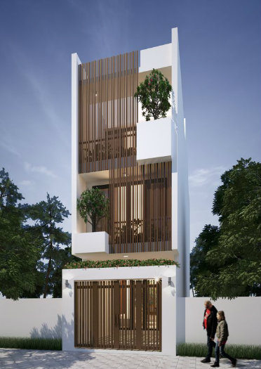 2- Sở hữu ngôi nhà đẹp mãi với thời gian cùng thiết kế nhà 6x20m