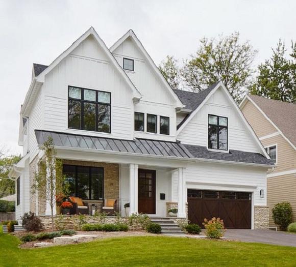 4- Những mẫu thiết kế biệt thự nhà vườn ở nông thôn đẹp
