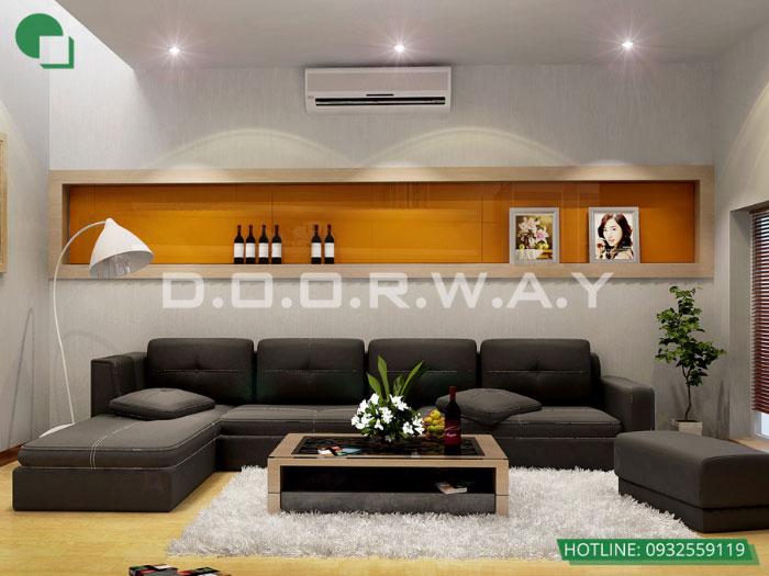 4- 6 mẹo thiết kế nội thất phòng khách biệt thự diện tích nhỏ