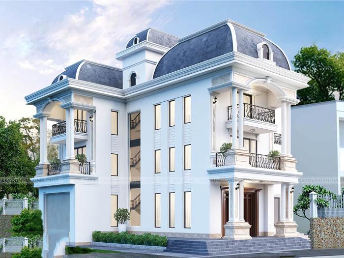 5 - thiết kế biệt thự phong cách tân cổ điển