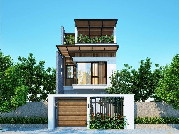 5- Sở hữu ngôi nhà đẹp mãi với thời gian cùng thiết kế nhà 6x20m