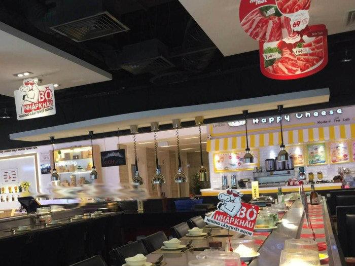 5- Kinh nghiệm thiết kế nhà hàng lẩu băng chuyền hài lòng thực khách