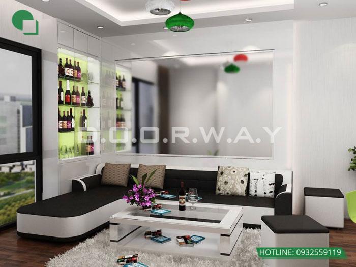5- 6 mẹo thiết kế nội thất phòng khách biệt thự diện tích nhỏ