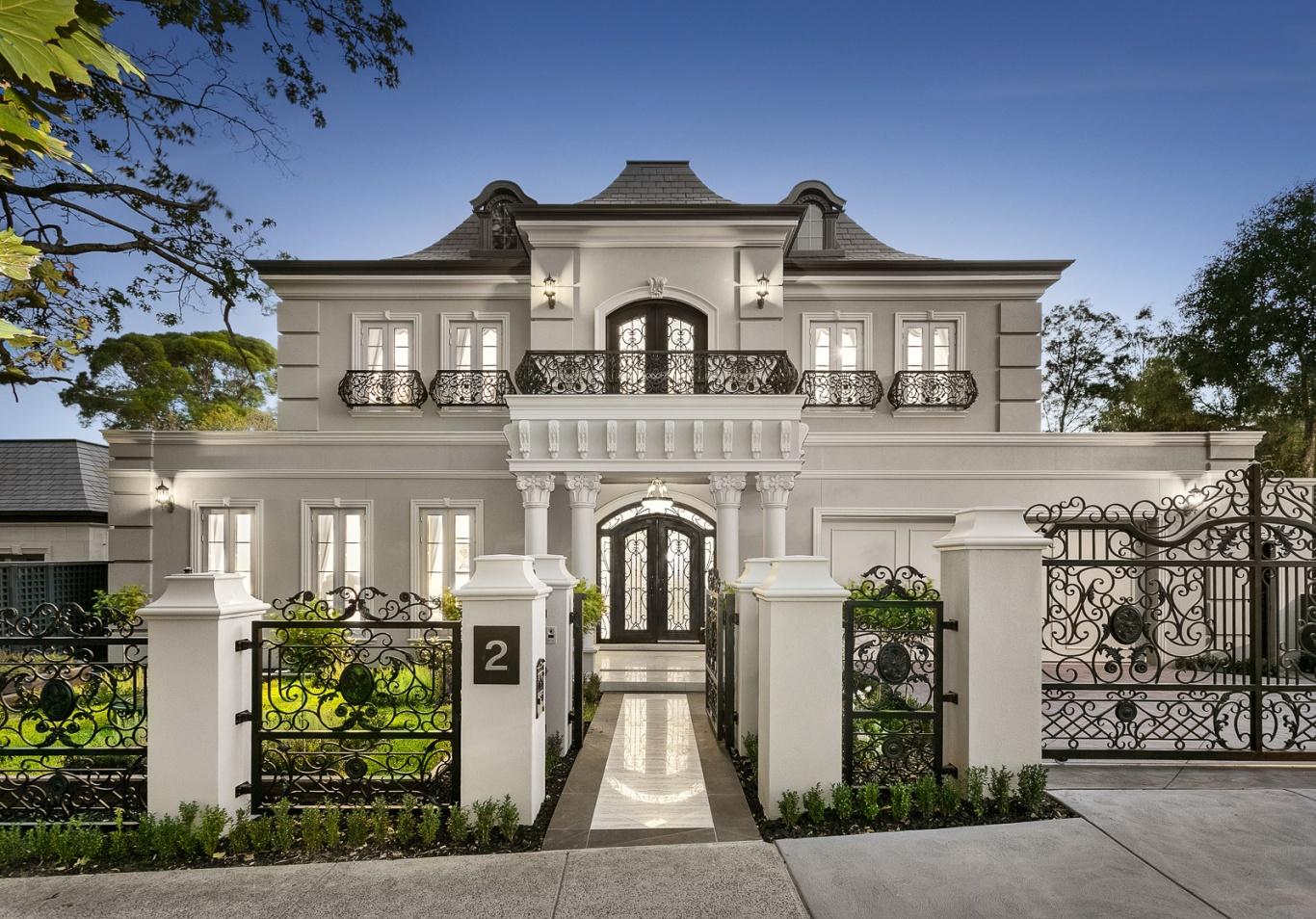 6-thiết kế biệt thự phong cách tân cổ điển